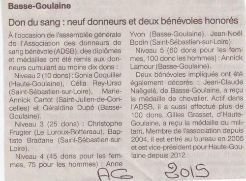 2015 AG Basse Goulaine
