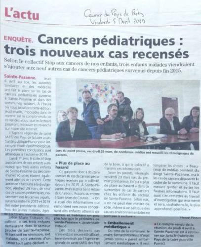 20190405 Cancers Pédiatriques 1