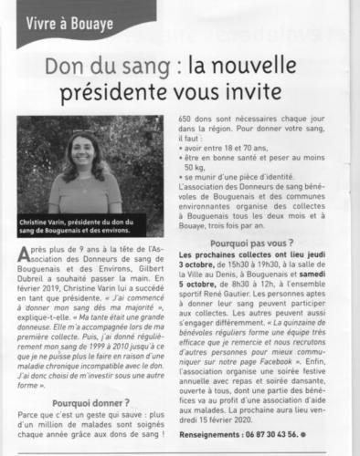 20191002 ADSB BouguenaisBouaye Christine Varin